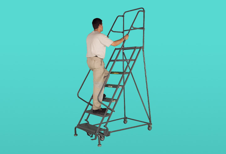 Mobile Ladder Stands and Platforms