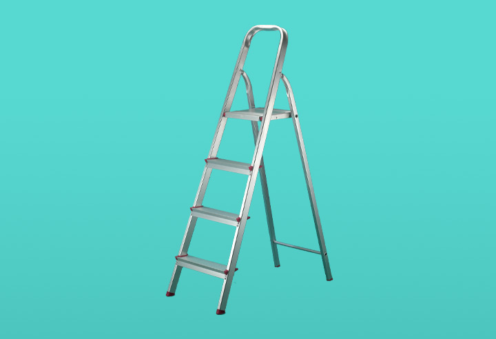 Image of a step ladder